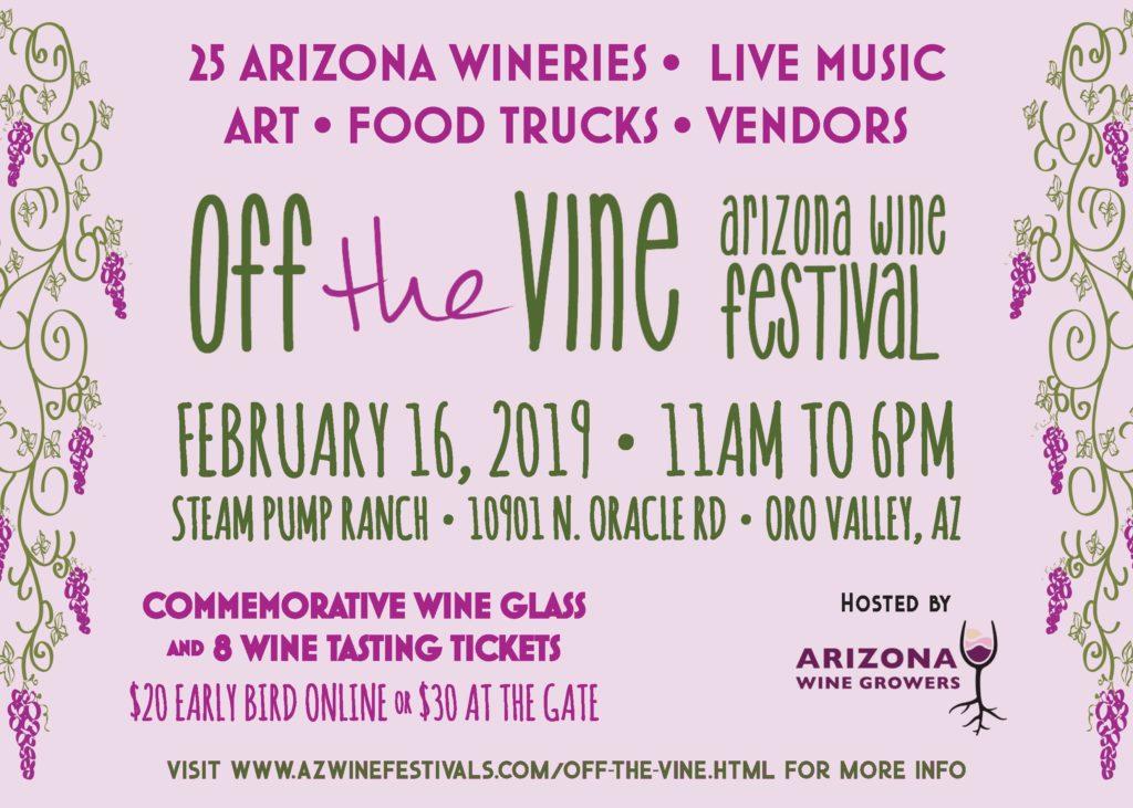 Off the Vine Wine Festival - Oro Valley