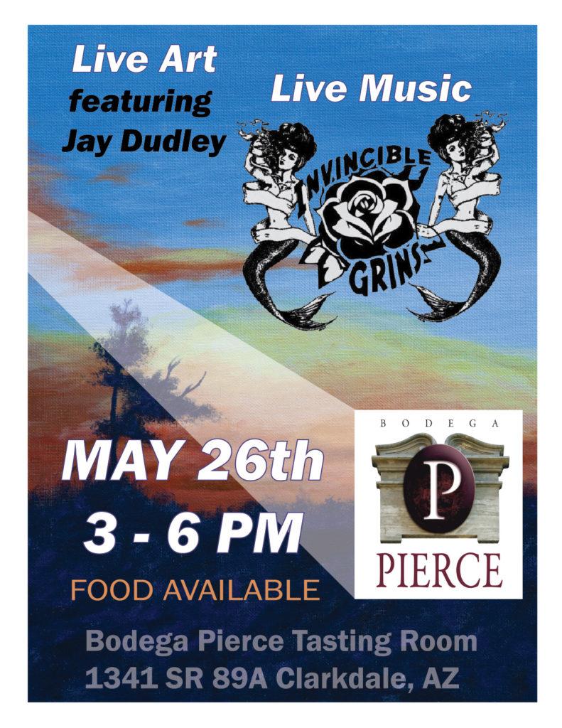 Live Art and Music @ Bodega Pierce Clarkdale | Clarkdale | Arizona | United States
