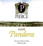 Pandora wine Bodega Pierce