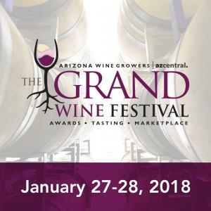 AWGA Grand Wine Festival @ Heritage Square | Phoenix | Arizona | United States