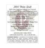 Petite Sirah wine information