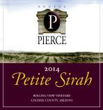 Arizona Petite Sirah label