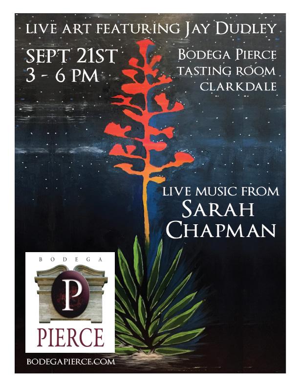 Live Art and Music - Sarah Chapman @ Bodega Pierce Clarkdale | Clarkdale | Arizona | United States
