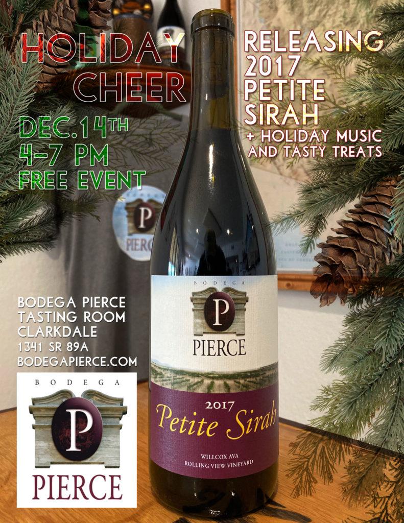 Bodega Pierce Petite Sirah Wine